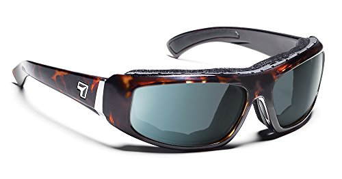 7eye Bali Photochromic Sunglasses, Dark Tortoise Frame, Day Night Eclypse Lens, Medium/Large