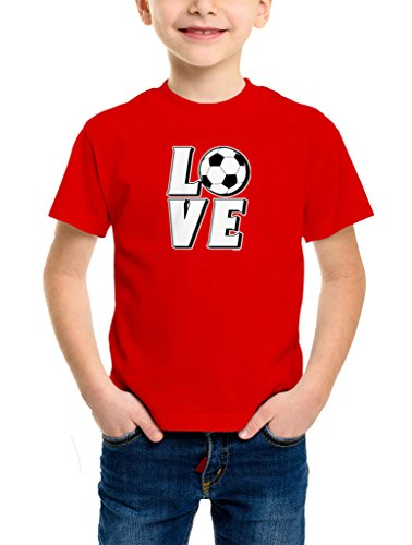 YOUTH Boys Love Soccer T shirt