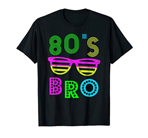 This Is My 80s Bro T-Shirt 80's and 90's Party -