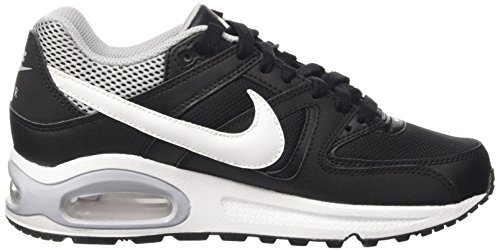 Nike Air Max Command (PS), Zapatillas de Running Para Niños Negro / Blanco / Gris (Black / White-Wolf Grey)