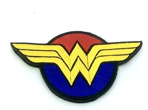 Wonder Woman Cosplay Brod/é Airsoft Morale Patch