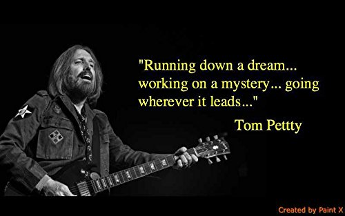 Get Motivation Tom Petty and The Heartbreakers Classic Rock Star Band Poster 12 x 18 inch