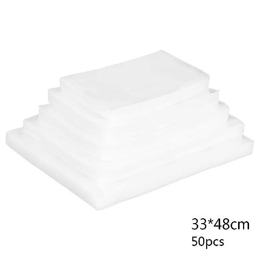 Kakiyi - 50 Bolsas de plástico Transparentes para envasado al ...
