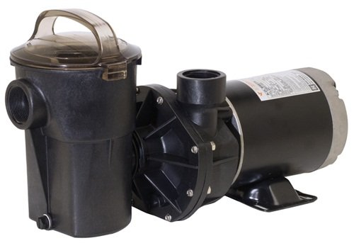 (Hayward SP1580H Power-Flo LX Series Pump 1-Horse Power with Horizontal Discharge )