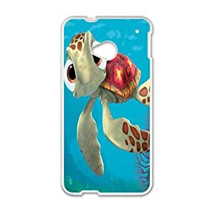 Happy Cartoon turtle Phone Case for HTC One M7