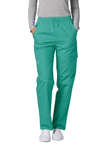 Adar Universal Natural-Rise Multipocket Cargo Tapered Leg Pants - 506 - Surgical Green - S