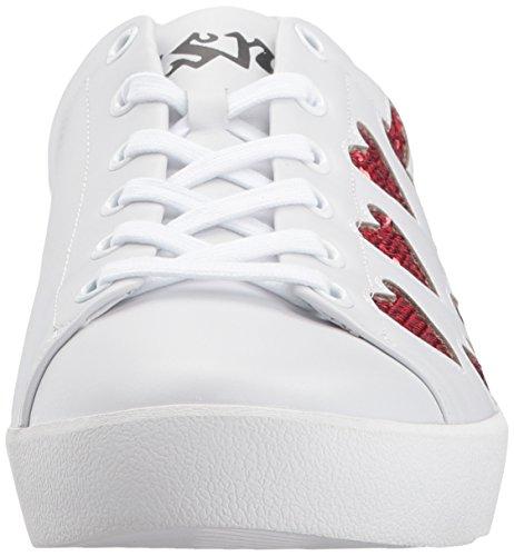 Ash AS Womens White Red Nikita Womens AS Ash Sneaker 4qFrw4fZ