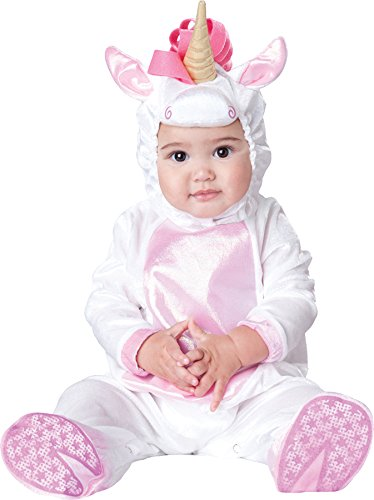 InCharacter Magical Unicorn Baby Infant Costume - Infant ,Pink,Large