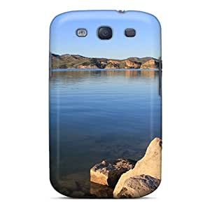 SAu-4727-WOw Case Cover Lake Galaxy S3 Protective Case