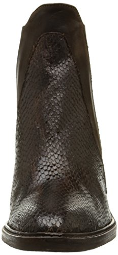 Donna Piu Brigida 9588 - Botas mujer marrón - Marron (Snake Cigaro/Nabuk Tdm)