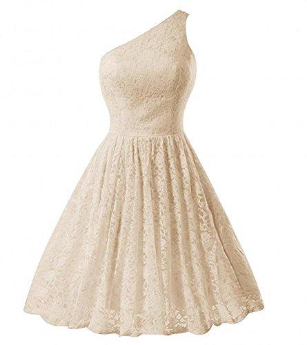 KA Beauty - Vestido - para mujer champán