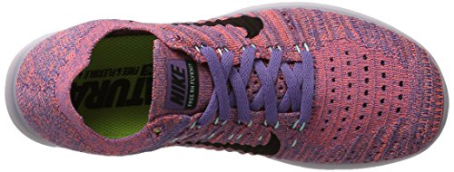 Shoe Earth Black Flyknit 2017 Free RN Running NIKE Purple Women's 78nqFxgwzY