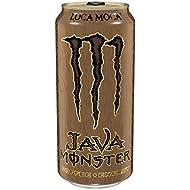 Java Monster, Loca Moca, 15 Ounce (Pack of 12)