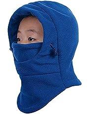 Kids Balaclava Mask Winter Full Face Balaclava Hat Boys Girls Windproof Thick Warm Ski Hat
