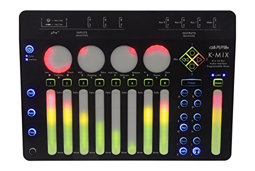 K-Mix Audio Interface/Programmable Mixer/Control Surface