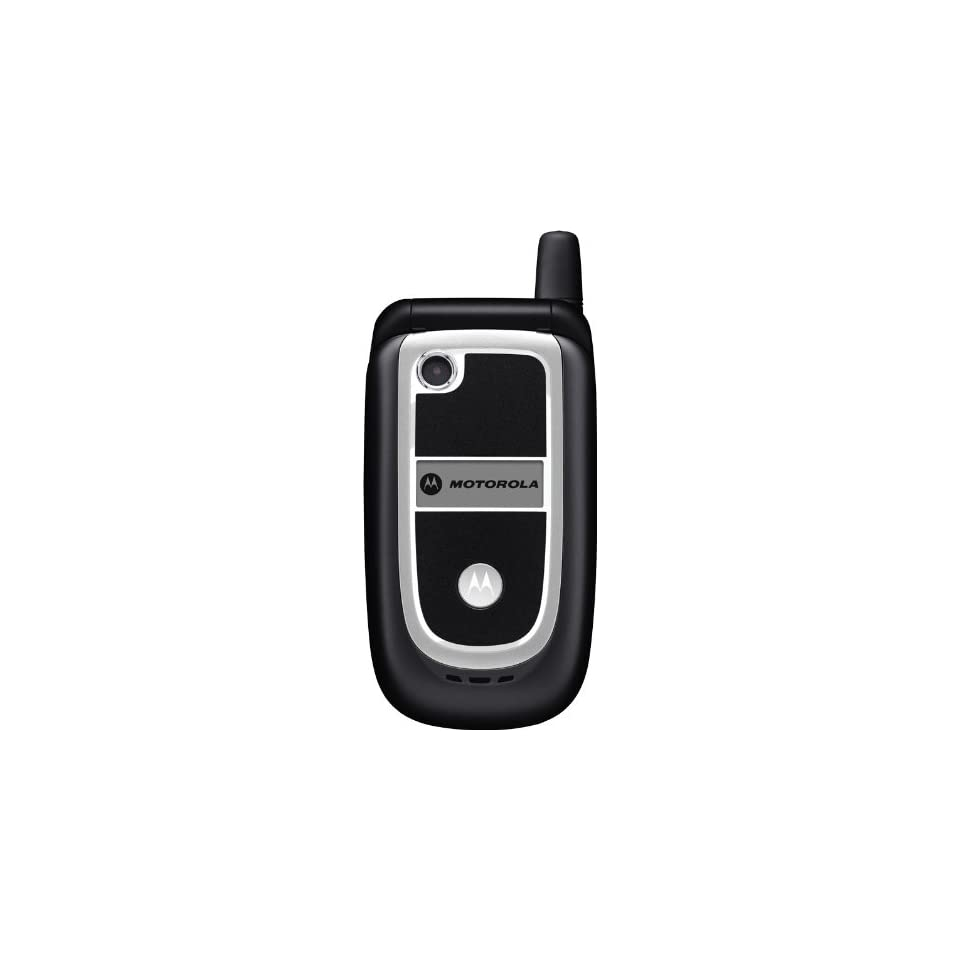 Motorola V237 Unlocked GSM Flip Phone with VGA Camera, Video Capabilities and Internet Browser   Black Cell Phones & Accessories