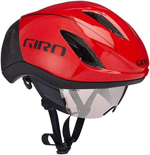 Bicycle Giro Helmet Racing - Giro Vanquish MIPS Racing Helmet - 2018 MEDIUM RED/BLACK
