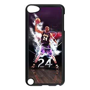 The NBA star Kobe Bryant for Apple iPod Touch 5th Black Case Hardcore-7