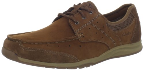 Nubuck Casual Shoes (CLARKS Men's Armada English Oxford,Tan,11.5 M US)