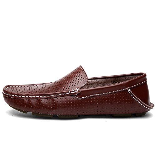 CFP - botas sin cordones hombre marrón