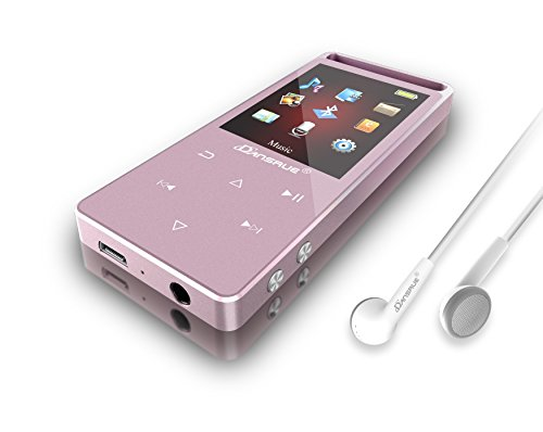 MP3 Music Player with Bluetooth, Dansrueus Portable Lossless MP3 Movies Player Metal Touch Screen with FM Radio Recorder for Jogging Walking