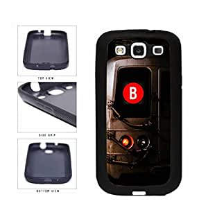 Personalized NYC Train Custom Letter B TPU RUBBER SILICONE Phone Case Back Cover Samsung Galaxy S3 I9300