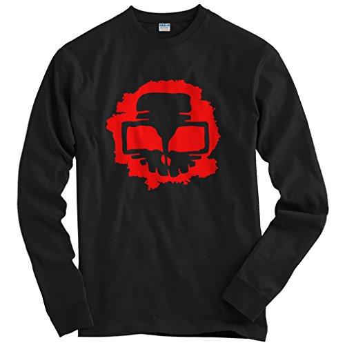 Freshism Men's Insider Long Sleeve T-shirt - Black, (Chicago Halloween Homicides)