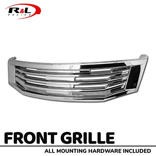 09 honda accord chrome grill - 5