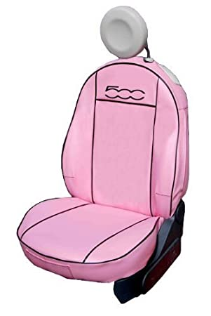 Set Seat Covers Leatherette Pink 2 Front Covers 2 Rear Indipendent