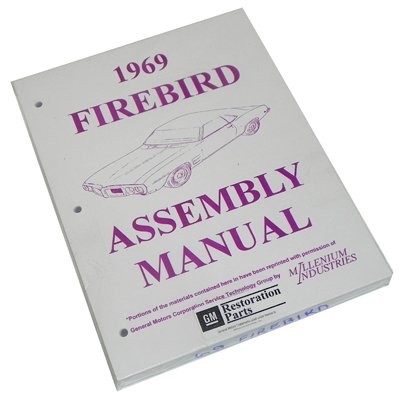 Inline Tube (I-3-6) Factory Assembly Manual for 1969 Pontiac - Firebird Air Ram