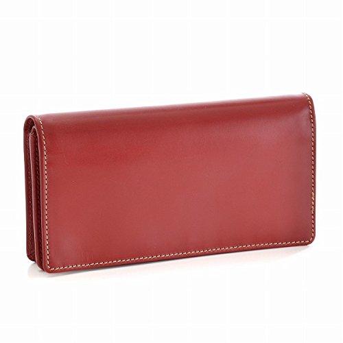 Whitehouse Cox(ホワイトハウスコックス) 財布 メンズ BRIDLE LEATHER 2つ折り長財布 レッド S8819-SC-0004 [並行輸入品] B0777MC8RX