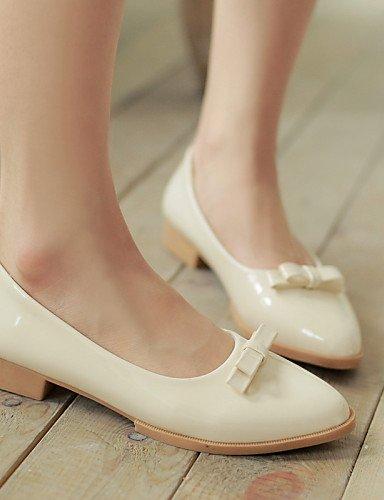 rosa 5 green 5 Casual Flats eu37 us6 uk4 azul las verde de cn37 señaló 7 5 plano Toe PDX zapatos talón blanco mujeres wFaxxq67R