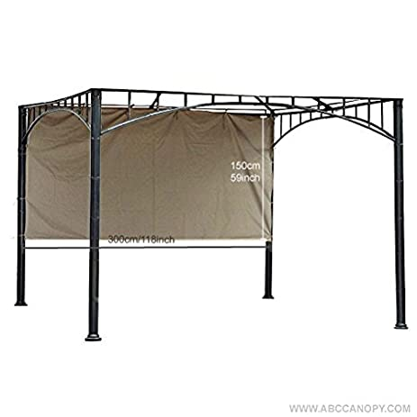 Abccanopy Universal Canopy Tent Gazebo Sunshade for 10Ft Gazebos (118u0026quot;X59u0026quot; ...  sc 1 st  Amazon.com & Amazon.com : Abccanopy Universal Canopy Tent Gazebo Sunshade for ...