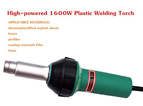 CGOLDENWALL 1600W Plastic Welders Hot Air Welding Gun Hot Air Heating Gun Welding torch+Butterfly Blade by CGOLDENWALL (Image #4)