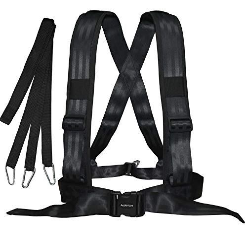 Where to find sled harness with pull strap?