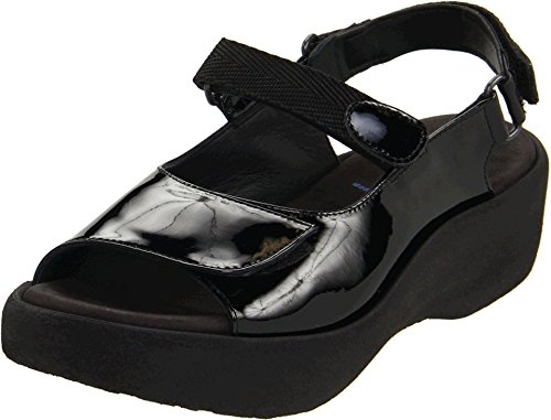 (Wolky Women's Jewel Black Patent Leather 40 European )