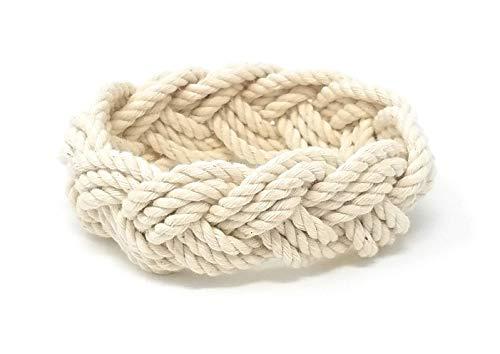 Mystic Knotwork Sailor Bracelet (Original Medium (Wrist 6-7 in), Natural) 7' San Marco Bracelet