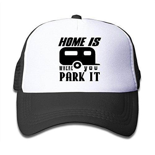 Home Is Where You Park It Girl Mesh Cap (Trailer Park Boys Hat)