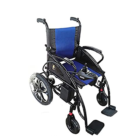Amazon.com: 2019 Electric Wheelchairs Silla de Ruedas Electrica para Adultos FDA Approved Transport Friendly Lightweight Folding Electric Wheelchair for ...