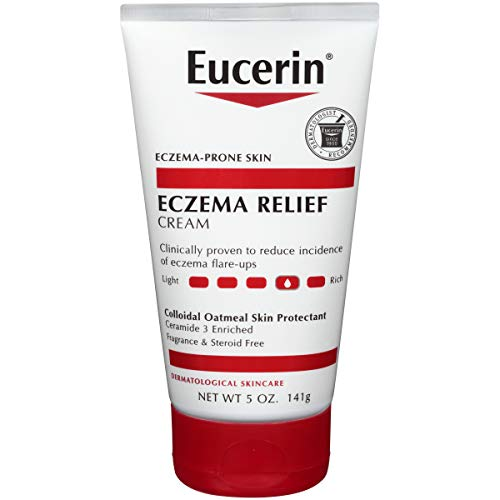 (Eucerin Eczema Relief Cream - Full Body Lotion for Eczema-Prone Skin - 5 oz. Tube)