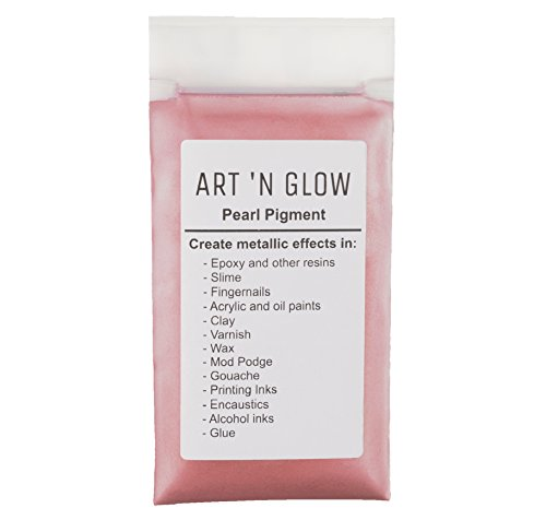 Pearl Pigment Powder (Pink) - (.88 Ounce/25 Grams) - 10+ Colors Available