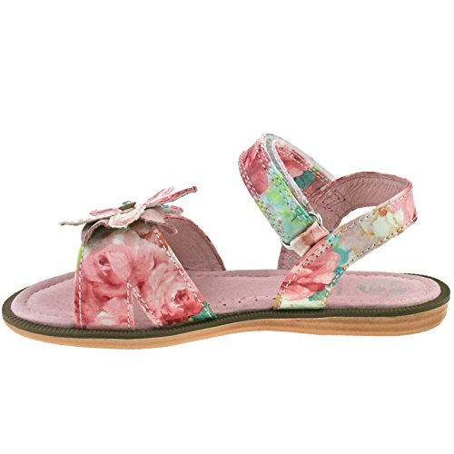 Lelli Kelly LK9500 (AC02) Fantasia Rosa Fiore Sandals -24 (UK 6.5)