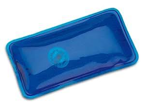 Rectangular de los bolsillos, se calienta por doblar la placa de metal, Azul transparente, CE