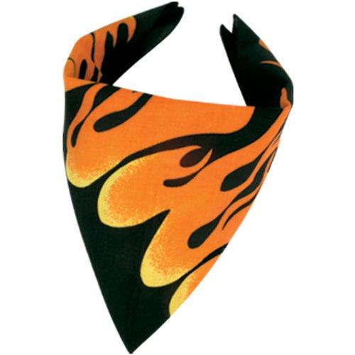 Flame Bandana (Flame Bandana Party Accessory (1 count))