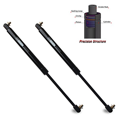 Beneges 2PCs Hood Lift Supports Compatible with 1998-2005 Lexus GS300, 1998-2000 Lexus GS400, 2001-2005 Lexus GS430 Front Hood Gas Spring Charged Struts Shocks Dampers 5344039175, 4536, 8194191, 13683