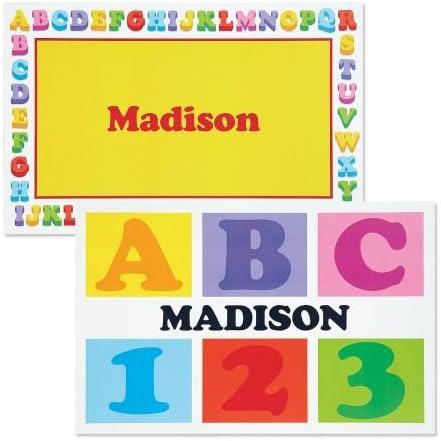 Lillian Vernon Personalized Alphabet Cotton Baby Quilt