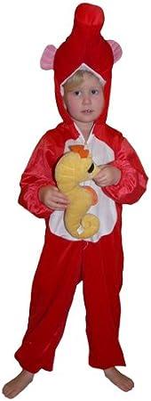 J61 Caballito de mar Disfraz Caballito de mar Disfraz infantil ...