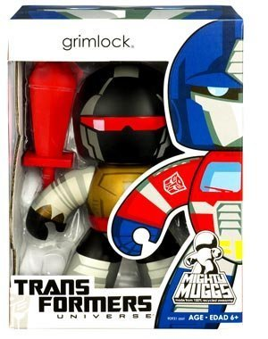 Transformers Universe Mighty Muggs Series 2 Vinyl Figure Grimlock by - Vinyl Muggs Mighty