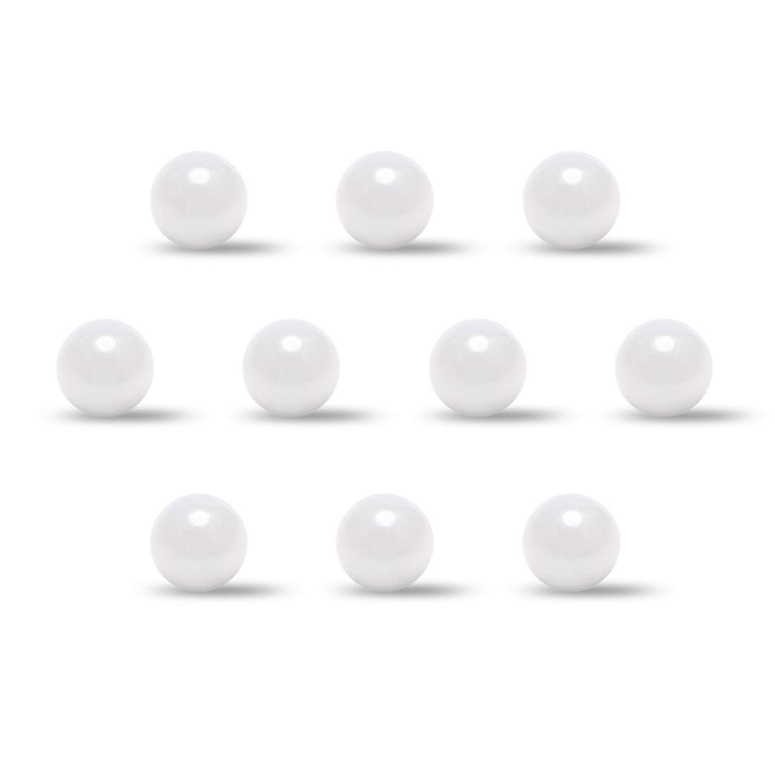 uxcell 2mm Ceramic Bearing Balls ZRO2 Zirconium Oxide Ball G5 Precision 3pcs
