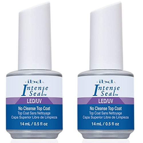 IBD INTENSE SEAL LED/UV Gel Shine Top Coat Acrylics / Net wt
